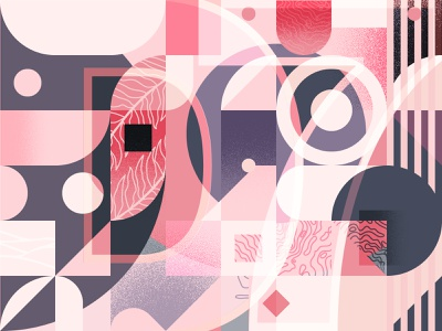 Pattern 005 geometric abstract texture illustration pattern