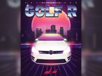 Golf R Poster