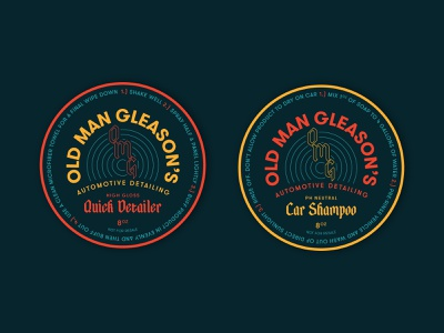 Alternative Label Design layout logo label typography