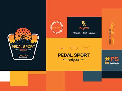Bike Shop Brand Exploration minimal brand identity bike shop vintage retro typography brand