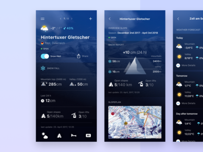 Weather And Ski App - Case Study