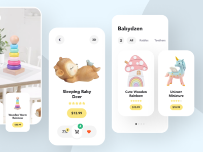 Babydzen - App for Toys Shop