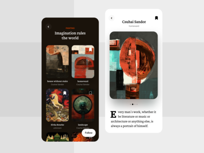 Gallery - App Interface