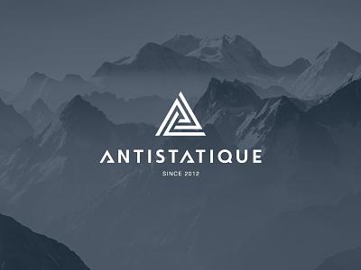 Antistatique logo icon snowboard charity clothes typography store social kids design logo design logodesign font brand logotype logo