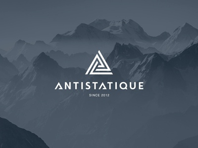 Antistatique logo icon snowboard charity clothes typography store social kids design logo design logodesign font brand logotype logo