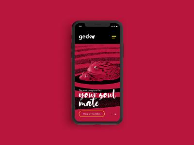 Soulmate black and red frog webdesign website digitalart illustration ux  ui user interface navigation love mobile app mobile graphic design app design