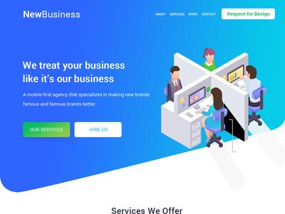 New Business UI Design