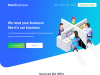 New Business UI Design