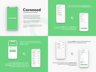 Coroneed App