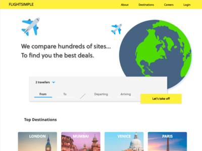 Travel Booking Website