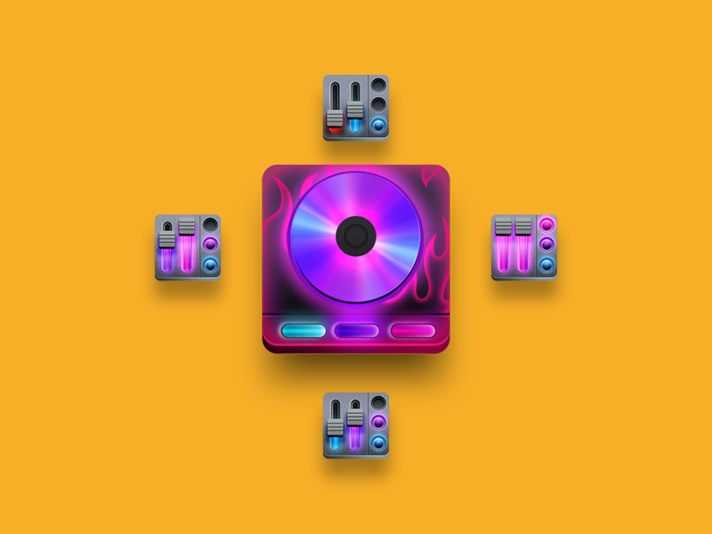 Music Game Badges by Drew Andersen on Dribbble