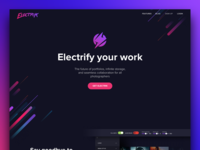 Electrik Homepage launched