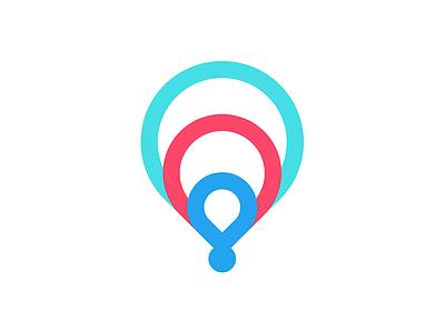 Path Logo brand logo mark wordmark flat ux ui car dealer location branding app
