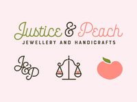 Justice & Peach Branding