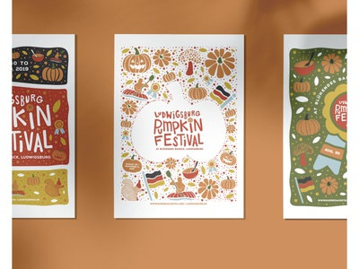 Ludwigsburg Pumpkin Festival posters