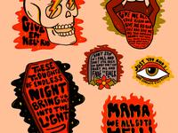 My Chemical Romance Flash Sheet