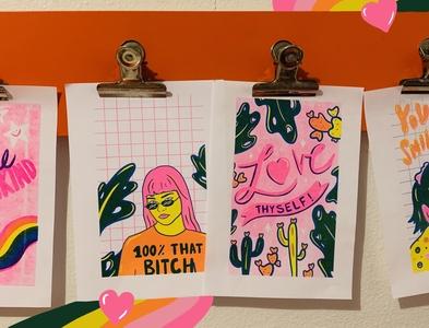 Risograph Prints