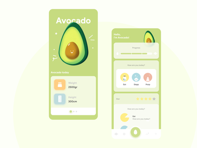 Avocado Mobile App ui