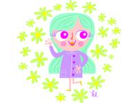 Groovy girl