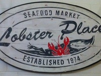 Lobster Place Sign