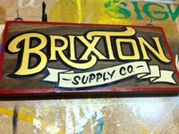 Brixton Supply Co - Enamel on Stained Pine