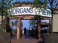 Morgan's Pier Sign - 23' x 4'