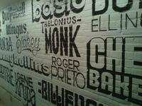 Ortliebs Lounge - Bathroom Mural