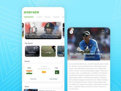 Sports News App Challenge