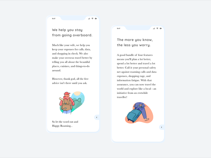 Onboarding Screens With Powerful UX Copy ux writing user interface appdesign onboarding onboarding screens onboarding flow onboarding ui travel app app appuidesign ux writer onboarding screen illustration microcopy copywriting copywriter uidesign uxdesign ux ui