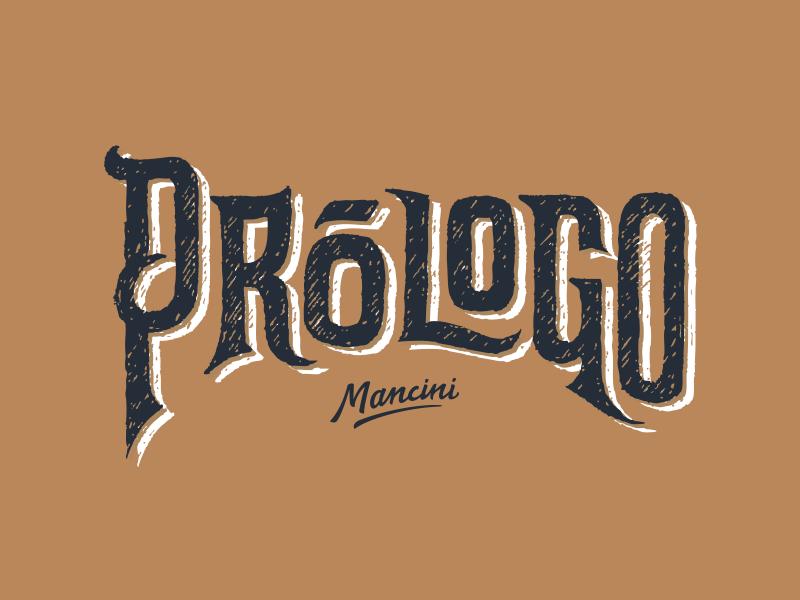 Prologo wine logo lettering handmade custom letters typography wine label mendoza argentina vino etiqueta logo