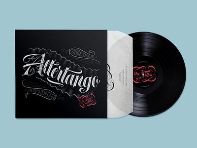 Altertango Vinyl design