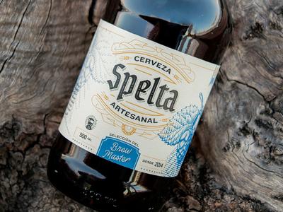 Spelta Brew Master label