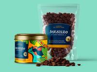 Mestizo coffee packaging