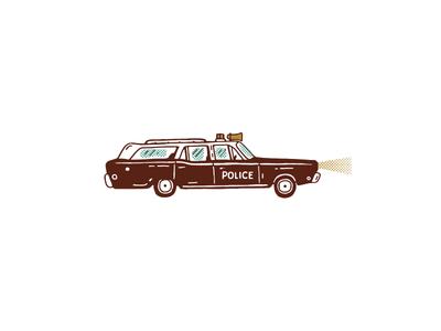 Moonrise Kingdom Police car
