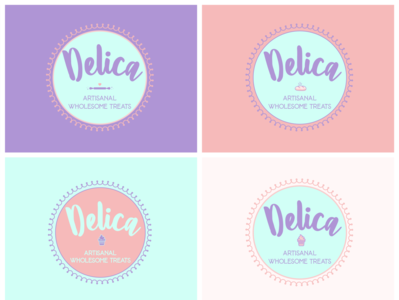 Delica Logo design