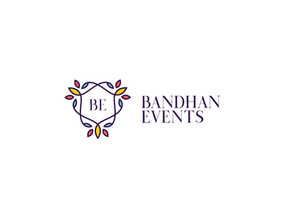 Bandhan Events Logo design