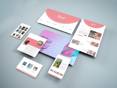 Steal my Way_Website Design