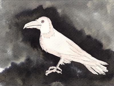Inktober 2021 blackandwhite ink inktoberday5 2021 inktober2021 raven traditionalart art drawing illustration