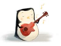 Penguin children's illustrations