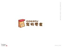 Dogsmy Pet Shop Logo Design
