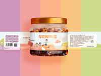 DEYIYUAN children's food packaging design