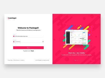 Login UI ui web concept illustration design
