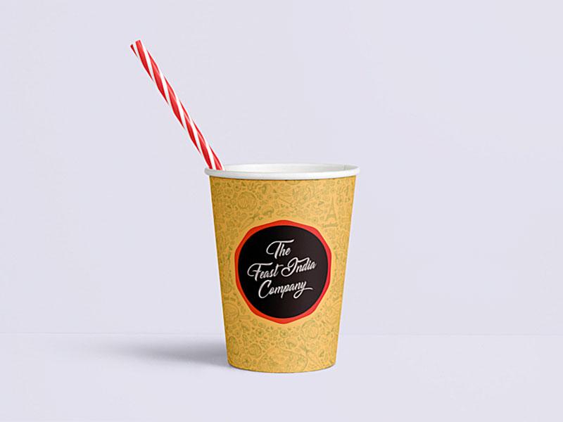 The Feast India Company Packaging 2019 thefeastindiaco tfic pandb progressiveandbold pandbstudio packaging design packaging fastfood design food typography logo branding