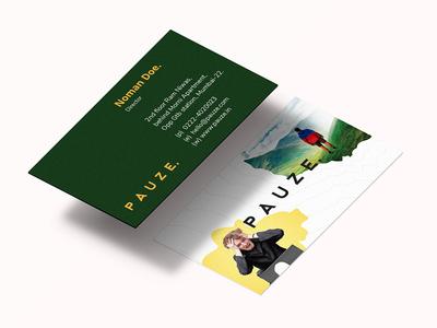 Pauze Visiting Card