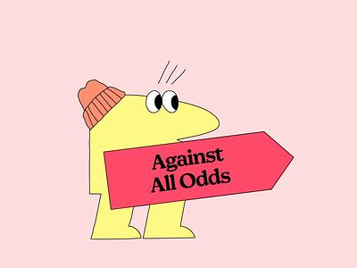 Against All Odds design mailchimp 2d gif animation