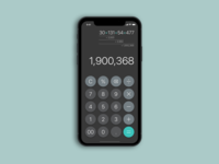 Daily UI #004 Calculator