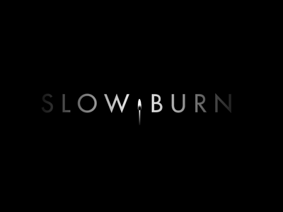 Slow Burn Films logo - Final logo film credits