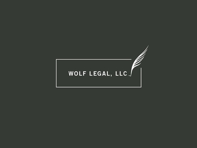 Wolf Legal Final Logo logo branding mark