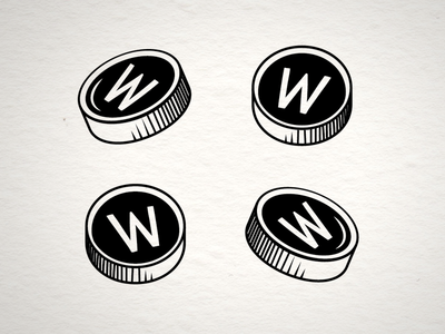 Typewriter Keys logo illustration typerwriter