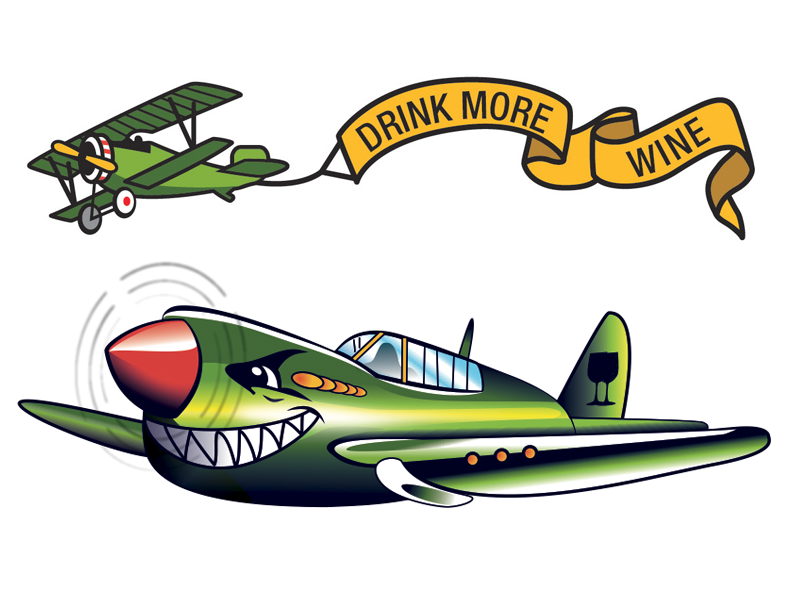 Tattoo Planes temporary tattoos plane vector illustration